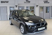 USED 2014 14 BMW X1 2.0 SDRIVE20D EFFICIENTDYNAMICS BUSINESS 5d 161 BHP FULL LEATHER SEATS + FULL BMW SERVICE HISTORY + SAT NAV + £30 ROAD TAX + BLUETOOTH + DAB RADIO + HEATED FRONT SEATS + REAR PARKING SENSORS + AUTOMATIC AIR CONDITIONING