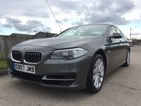 2014 BMW 5 SERIES 2.0 520D SE 4d AUTO 181 BHP £14290.00