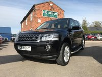 2013 LAND ROVER FREELANDER 2.2 TD4 GS 5d 150 BHP £14995.00