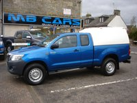 USED 2014 64 TOYOTA HI-LUX 2.5 ACTIVE 4X4 D-4D DCB 2D 142 BHP 1 OWNER FROM NEW