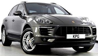 2015 PORSCHE MACAN 3.0 TD V6 S PDK AWD 5dr £39995.00