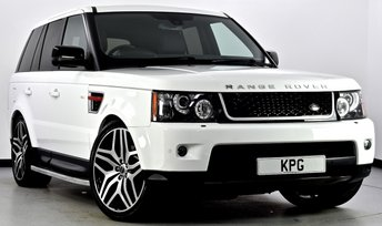 2012 LAND ROVER RANGE ROVER SPORT 3.0 SD V6 HSE Red Edition 4X4 5dr Auto [8] £25495.00