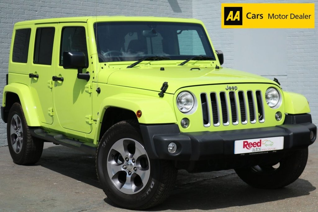 2017 17 JEEP WRANGLER 2.8 CRD OVERLAND UNLIMITED 4d AUTO 197 BHP