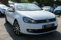 2012 VOLKSWAGEN GOLF 2.0 GT TDI BLUEMOTION TECHNOLOGY DSG 2d AUTO 139 BHP £11999.00