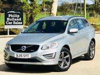 2015 VOLVO XC60 2.4 D4 R-DESIGN NAV AWD 5d 178 BHP £18495.00