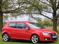 2006 VOLKSWAGEN GOLF 2.0 GTI 3d 197 BHP £5490.00