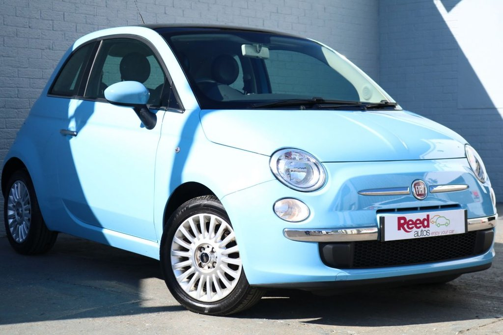 2012 12 FIAT 500 1.2 LOUNGE 3d 69 BHP