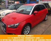 2011 AUDI A1 1.4 TFSI SPORT 3d 122 BHP £7700.00