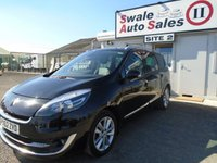 USED 2012 62 RENAULT SCENIC 1.5 GR DYNAMIQUE TOMTOM LUXE ENERGY DCI S/S 5d 110 BHP £42 PER WEEK NO DEPOSIT - SEE FINANCE LINK BELOW