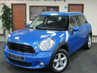2013 MINI COUNTRYMAN 1.6 ONE D 5d 90 BHP £7750.00
