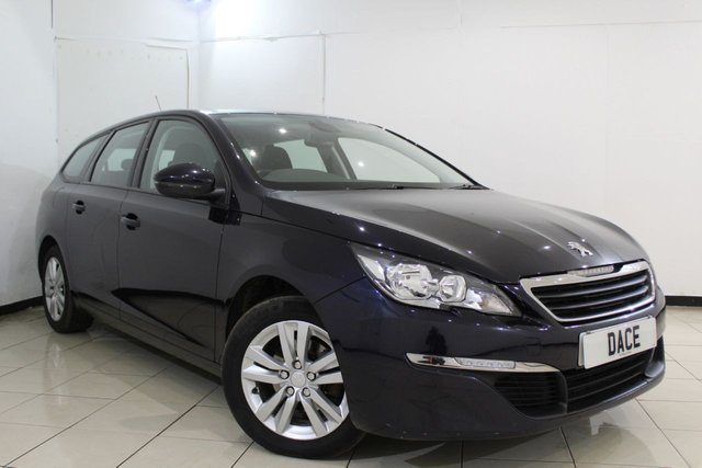 View our 2015 15 PEUGEOT 308 1.6 HDI S/S SW ACTIVE 5DR 115 BHP