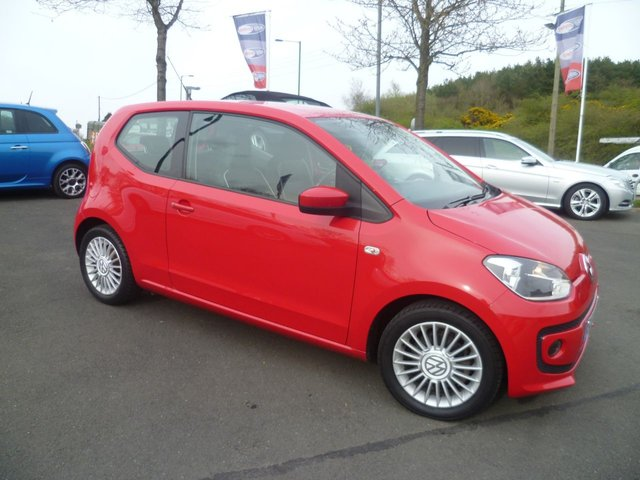 2012 62 VOLKSWAGEN UP 1.0 HIGH UP BLUEMOTION TECHNOLOGY 3d 74 BHP
