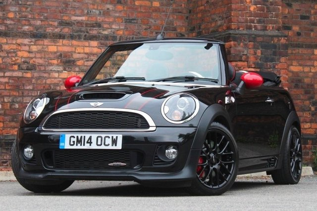 2014 14 MINI CONVERTIBLE 1.6 John Cooper Works 2dr
