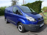 2015 FORD TRANSIT CUSTOM 270 L1 SWB 2.2Tdci 100Ps £12495.00