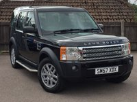 2007 LAND ROVER DISCOVERY 2.7 3 TDV6 XS 5d AUTO 188 BHP £10995.00