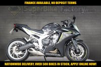USED 2017 66 HONDA CBR650F 650CC 0% DEPOSIT FINANCE AVAILABLE GOOD & BAD CREDIT ACCEPTED, OVER 500+ BIKES IN STOCK