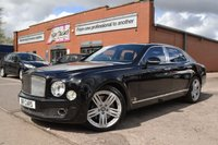 USED 2012 BENTLEY MULSANNE 6.8 V8 4d AUTO 505 BHP FULLY LOADED, MEGA SPEC