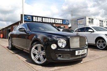 2012 BENTLEY MULSANNE 6.8 V8 4d AUTO 505 BHP £74990.00