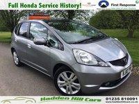 2010 HONDA JAZZ 1.3 I-VTEC EX 5d 98 BHP £4995.00