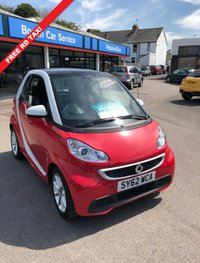 USED 2012 62 SMART FORTWO 1.0 PASSION MHD 2d AUTO 71 BHP FREE RD FUND LICENCE (NO RD TAX!) .. NEW MOT.. WARRANTED..