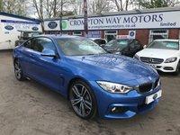 2014 BMW 4 SERIES 2.0 428I M SPORT 2d AUTO 242 BHP £19650.00