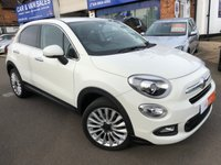 2017 FIAT 500X 1.4 MULTIAIR LOUNGE DDCT 5d AUTO 140 BHP £SOLD