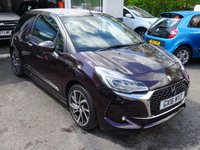 USED 2016 16 DS DS 3 1.2 PURETECH PRESTIGE S/S 3d 129 BHP CONVERTIBLE Citroen Service History + Recently Serviced less than 500 miles ago, One Previous Owner, MOT until March 2019, Convertible, Excellent on fuel economy! Only £20 Road Tax!