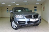2006 VOLKSWAGEN TOUAREG 2.5 TDI SE 5d AUTO 172 BHP £4650.00
