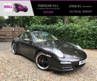 USED 2009 58 PORSCHE 911 3.8 CARRERA 4S PDK 2d AUTO 385 BHP 1 LOCAL OWNER FROM NEW SAT NAV FULL PORSCHE SERVICE HISTORY 19' ALLOY WHEELS
