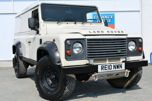 2010 10 LAND ROVER DEFENDER 110 LWB 2.4 110 HARD TOP Great Condition Utility Vehicle