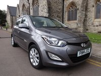 USED 2014 14 HYUNDAI I20 1.4 ACTIVE 5d AUTO 99 BHP ++ ONLY 14000 MILES ++ AUTOMATIC ++