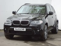 USED 2013 13 BMW X5 3.0 XDRIVE30D M SPORT 5d AUTO 241 BHP OVER £5000 WORTH OF OPTIONS ADDED TO THIS VEHICLE FROM NEW, VERY LOW MILEAGE MODEL WITH FULL BMW SERVICE HISTORY, MEDIA PACKAGE, HIGH BEAM ASSIST, DARK BAMBOO WOOD, SUN PROTECTION GLASS, SATALITE NAVIGATION, OYSTER LEATHER TRIM WITH HEATED FRONT AND REAR SEATS, REVERSING CAMERA, 20 INCH DIAMOND CUT ALLOYS, 2 KEYS, FULL BMW SERVICE HISTORY.