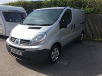 2014 RENAULT TRAFIC 2.0 SL27 DCI S/R P/V EXTRA 1d 115 BHP SAT NAV AIR CON ONE OWNER £6400.00