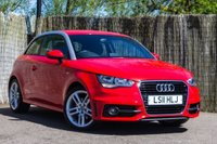 2011 AUDI A1 1.4 TFSI (122ps) Competition Line Hatchback 3d 1390cc £10000.00