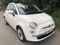 USED 2014 63 FIAT 500 1.2 LOUNGE 3d 69 BHP