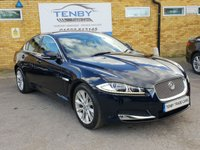 2011 JAGUAR XF 2.2 D LUXURY 4d AUTO 190 BHP £9984.00