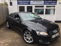 USED 2008 58 AUDI A5 2.0 TFSI SPORT 3d 178 BHP 67K 6SPD LEATHER DUAL AIR/ CON HIGH SPEC EXCELLENT CONDITION