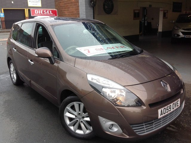 2009 59 RENAULT GRAND SCENIC  PRIVILEGE  2.0 DCI  TOM TOM   7 SEATER