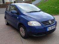 USED 2008 58 VOLKSWAGEN FOX 1.2 URBAN 6V 3d 54 BHP EXCELLENT CONDITION ++  1 OWNER FROM NEW++  SERVICE RECORD ++   MOT MARCH 2019 +