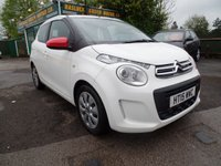 2015 CITROEN C1 1.0 AIRSCAPE FEEL 5d 68 BHP £6999.00