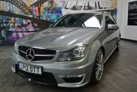 USED 2012 12 MERCEDES-BENZ C CLASS 6.2 C63 AMG 4d 457 BHP