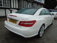 USED 2013 13 MERCEDES-BENZ E CLASS 2.1 E250 CDI BLUEEFFICIENCY S/S SPORT 2d AUTO 204 BHP