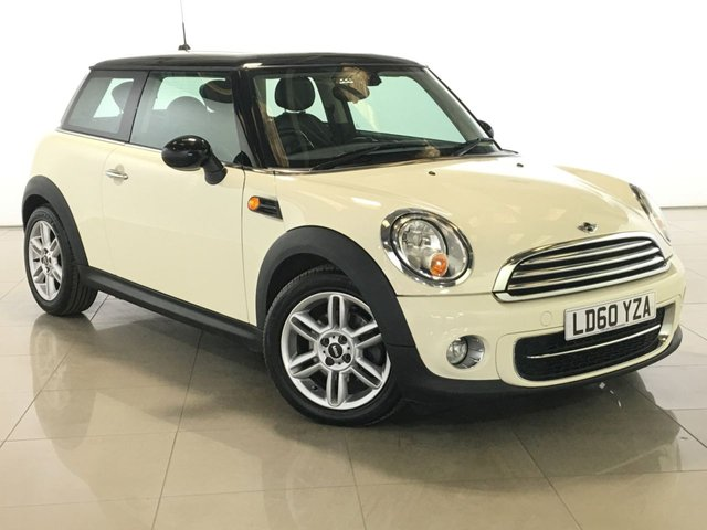 View our 2010 60 MINI HATCH COOPER 1.6 COOPER D 3d 112 BHP