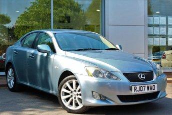 2007 LEXUS IS 2.2 220D SE 4d 175 BHP £3500.00