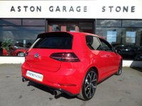 USED 2017 17 VOLKSWAGEN GOLF 2.0 GTI TSI 3d 227 BHP *LEATHER * BRESCIA ALLOYS* ** LEATHER * SAT NAV * CAMERA **