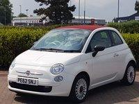 2012 FIAT 500 1.2 C POP 3d 69 BHP £SOLD