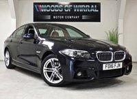 2016 BMW 5 SERIES 2.0 520D M SPORT 4d AUTO 188 BHP £16880.00