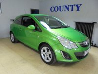 USED 2012 62 VAUXHALL CORSA 1.2 SXI AC 3d 83 BHP * TWO OWNERS WITH HISTORY *