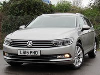 2015 VOLKSWAGEN PASSAT 1.6 SE BUSINESS TDI BLUEMOTION TECHNOLOGY 5d 119 BHP £9995.00