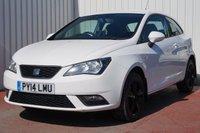 2014 SEAT IBIZA 1.4 TOCA 3d 85 BHP £5495.00